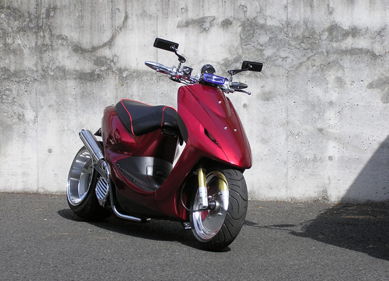 Honda 50cc Atv >> カスタム ディオ